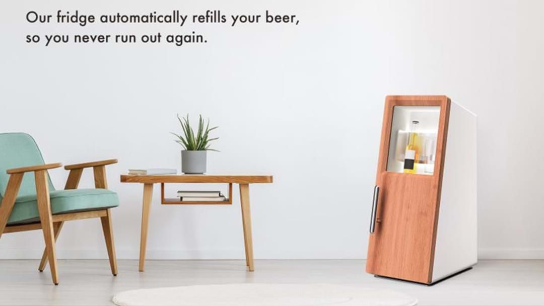 Article heading image for This Smart Fridge That Will Automatically Order You Beer When You're Running Low