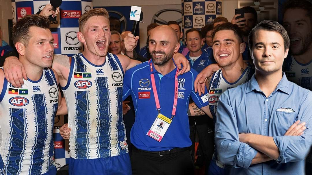 Article heading image for Jay Clark Says The North Melbourne Players Want Rhyce Shaw To Be The Permanent Coach