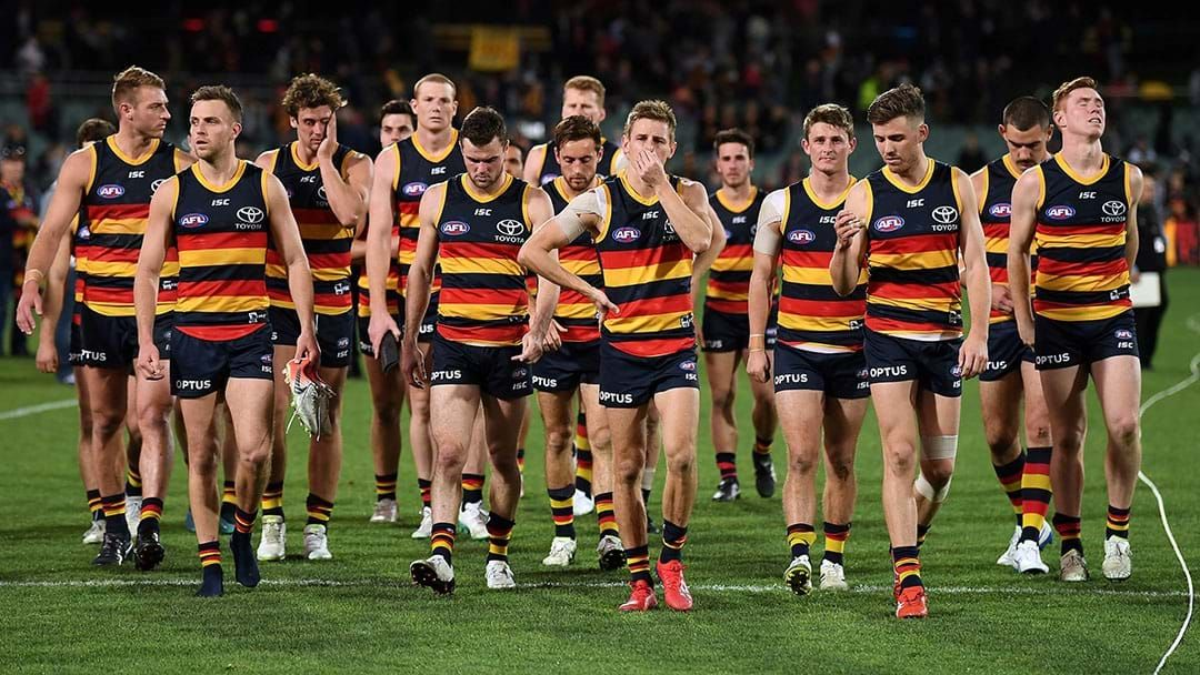 "Article heading image for LISTEN | Tom Browne Says The Adelaide Coaching Job Is A ""Four-Way Race"""