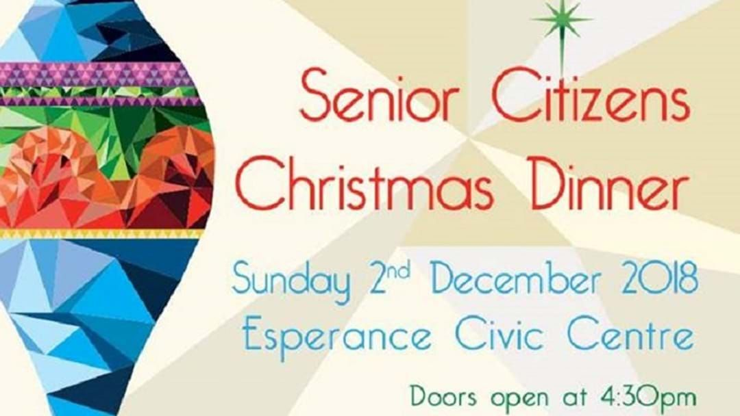 Article heading image for Esperance Senior Citizen's Xmas Dinner