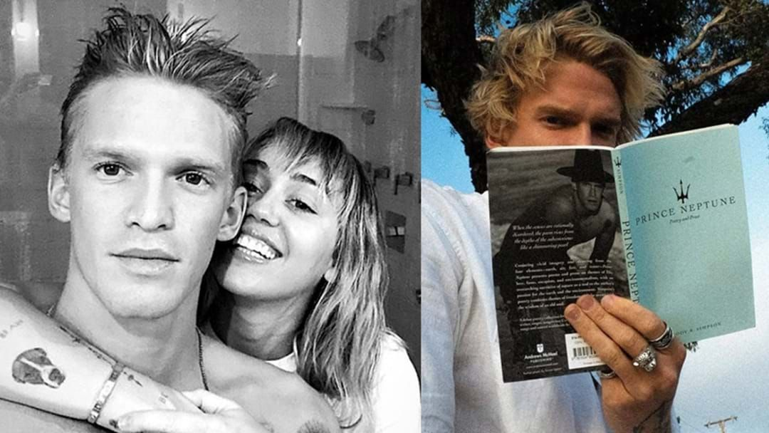 Article heading image for Cody Simpson Has A New Poetry Book And Hughesy Doesn't Like It!