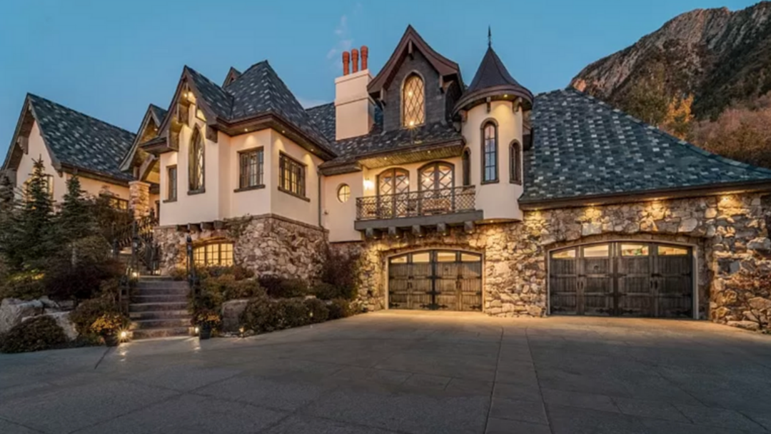 Article heading image for I Dare You To Buy This Vampire Mansion In Utah With A Really Creepy Wine Cellar