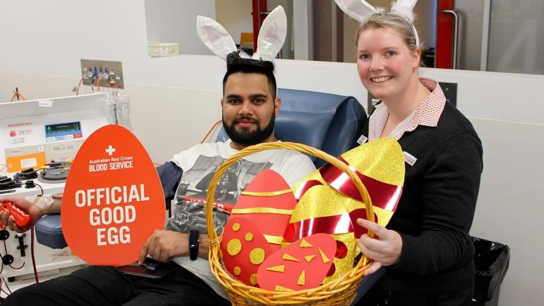 Article heading image for Good Eggs Needed For Shepparton Easter Blood Drive