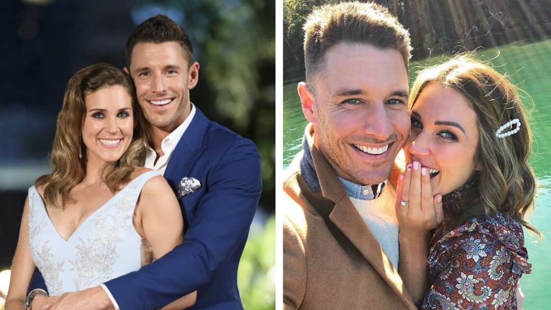 Article heading image for Bachie Faves, Georgia Love & Lee Elliott Ditch Their Wedding Plans