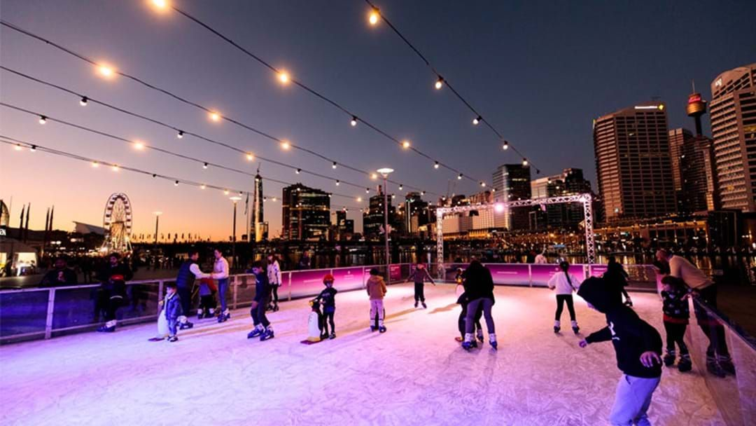 Article heading image for A Magical Ice Skating Rink Is Coming To Darling Harbour This Winter!