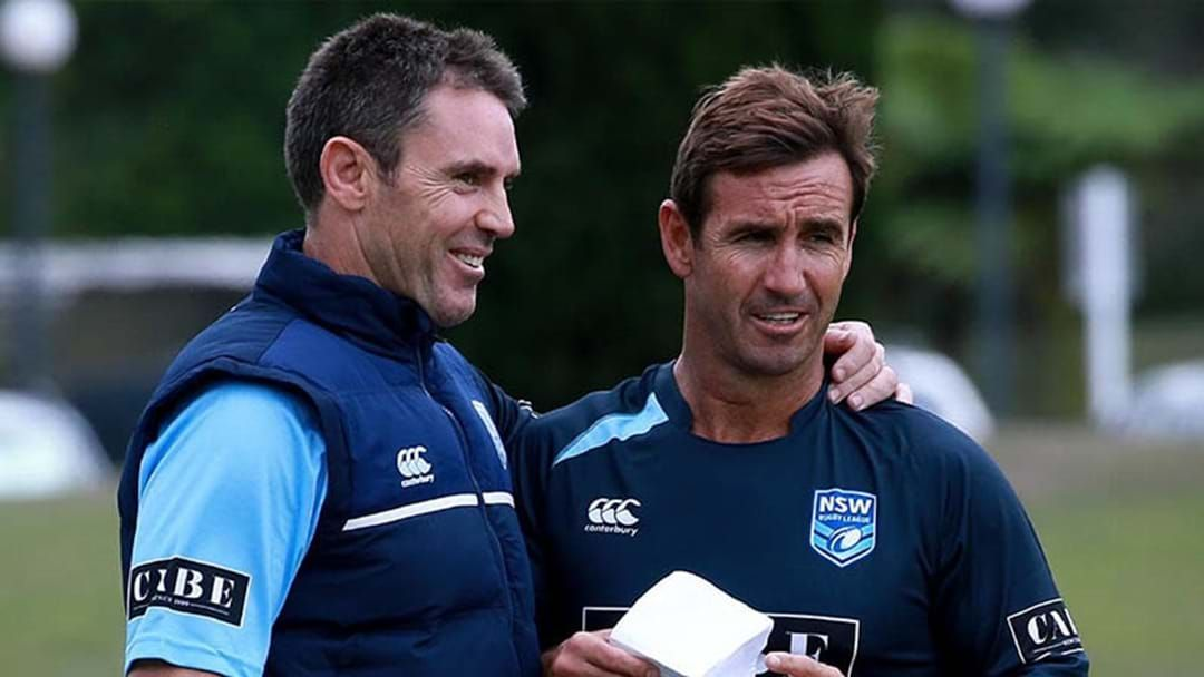 Article heading image for LISTEN | Here's Why Brad Fittler Can't Go Wrong In Selecting A Halfback For NSW