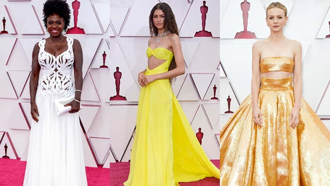 Article heading image for The Best Red Carpet Looks From The 2021 Oscars