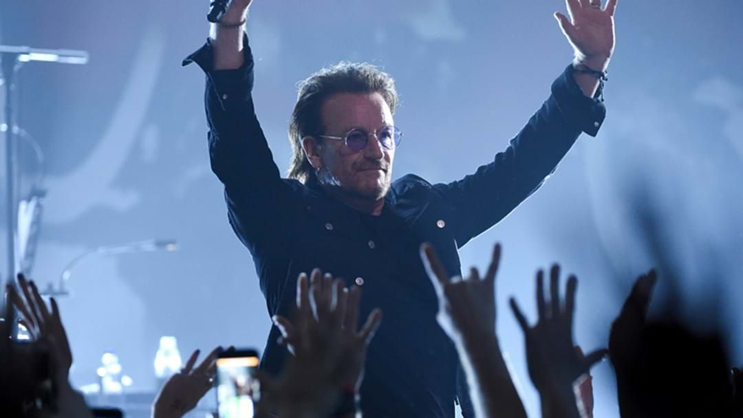 Article heading image for Bono Releases Thank You Letters To 60 Musicians That Saved His Life, Along With The Playlist