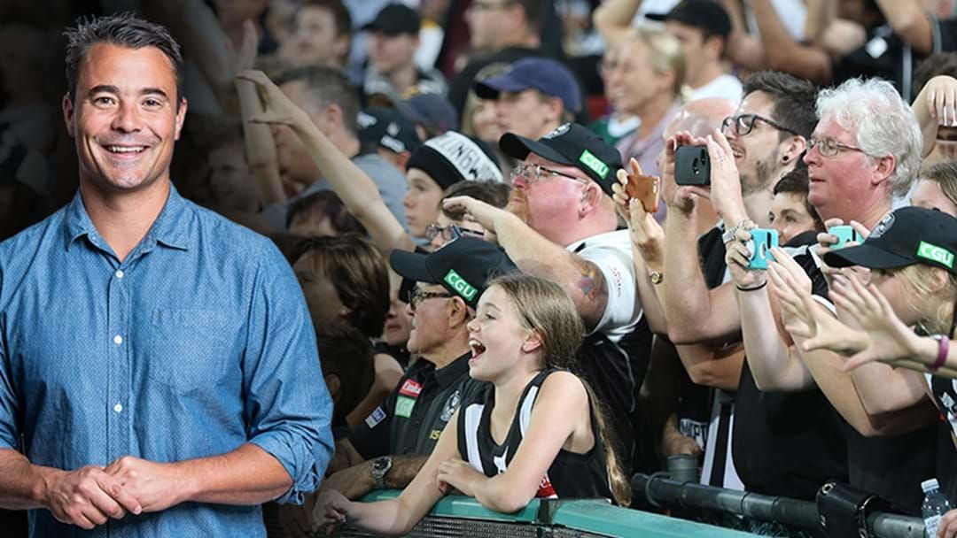 Article heading image for Jay Clark Gives A Realistic Timeline For Crowds Returning To Footy