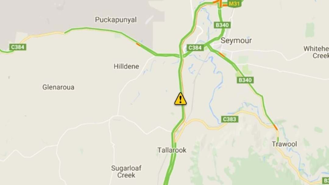 Article heading image for Truck roll over closes Hume at Seymour