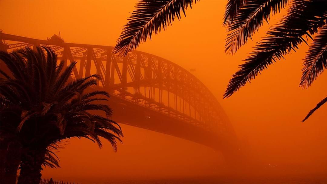 Article heading image for It's Been 10 Years Since The Sydney Dust Storm Turned Our City Orange