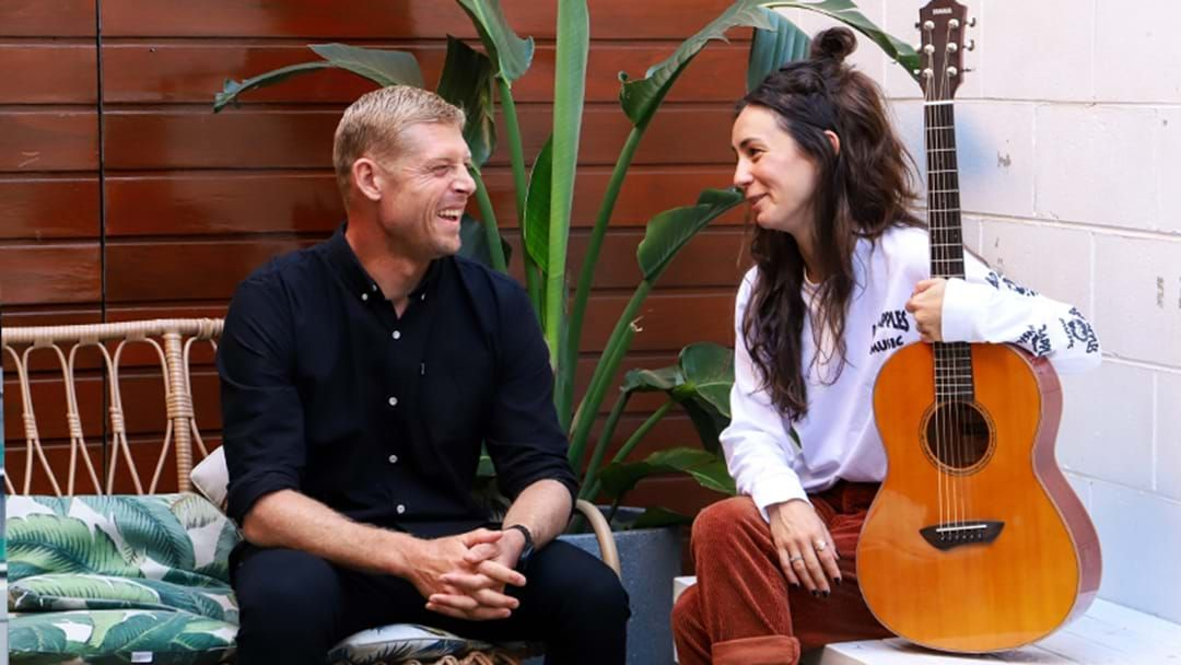 Article heading image for How Mick Fanning Helped Amy Shark Overcome Her Fear Of Sharks While Filming A Doco Together
