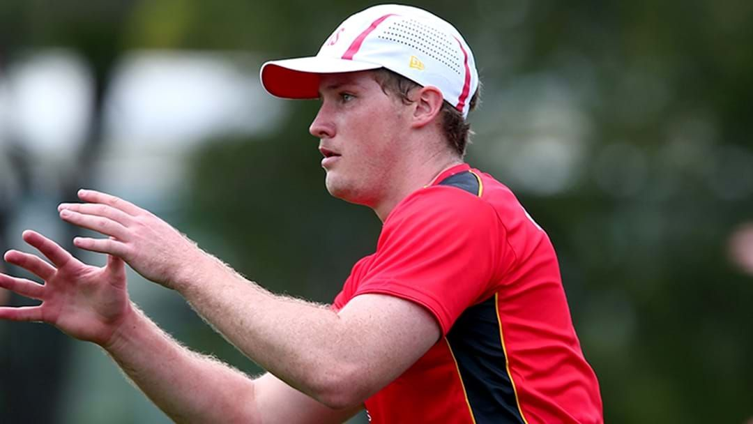 Article heading image for Gold Coast's Harrison Wigg Has Torn His ACL At Training