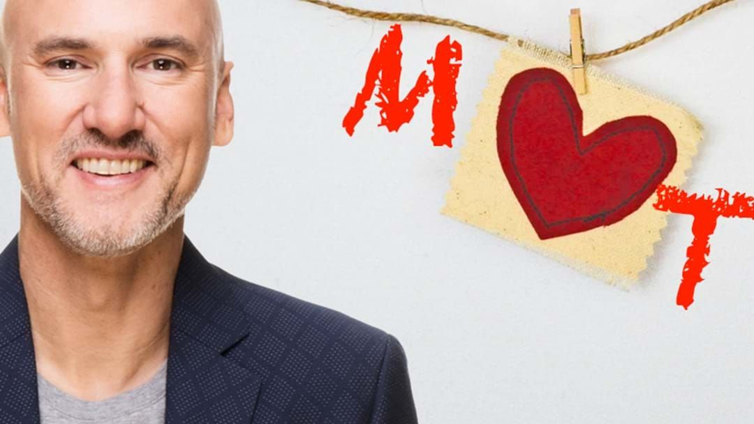 Article heading image for LIVE: Matt's Heart Shaped Love Song For His Fiancé T