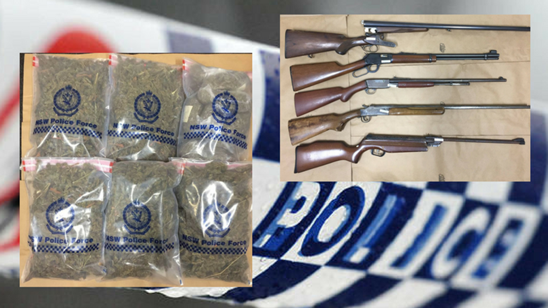 Article heading image for 63 Year Old Charged with Drug and Firearm Offences on Mid North Coast