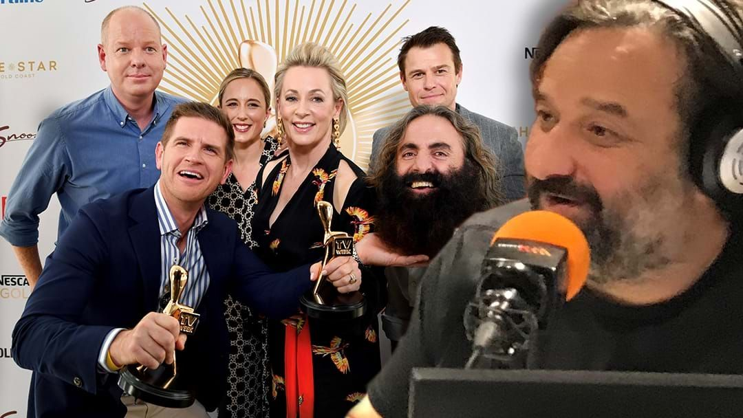 Article heading image for LISTEN | Mick Absolutely RINSES The Logies!