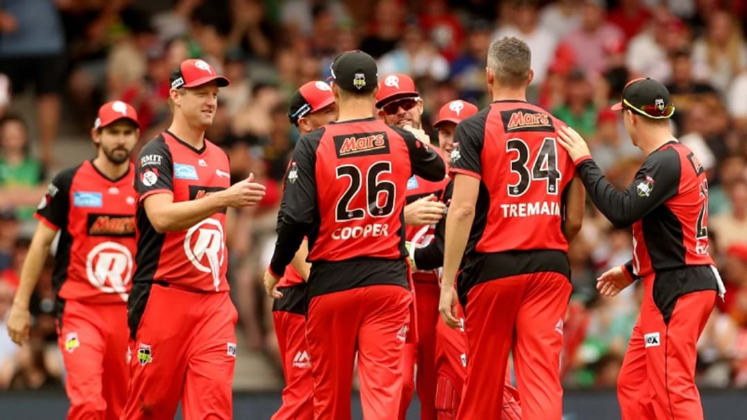 Article heading image for The Melbourne Renegades Have Won The BBL Final