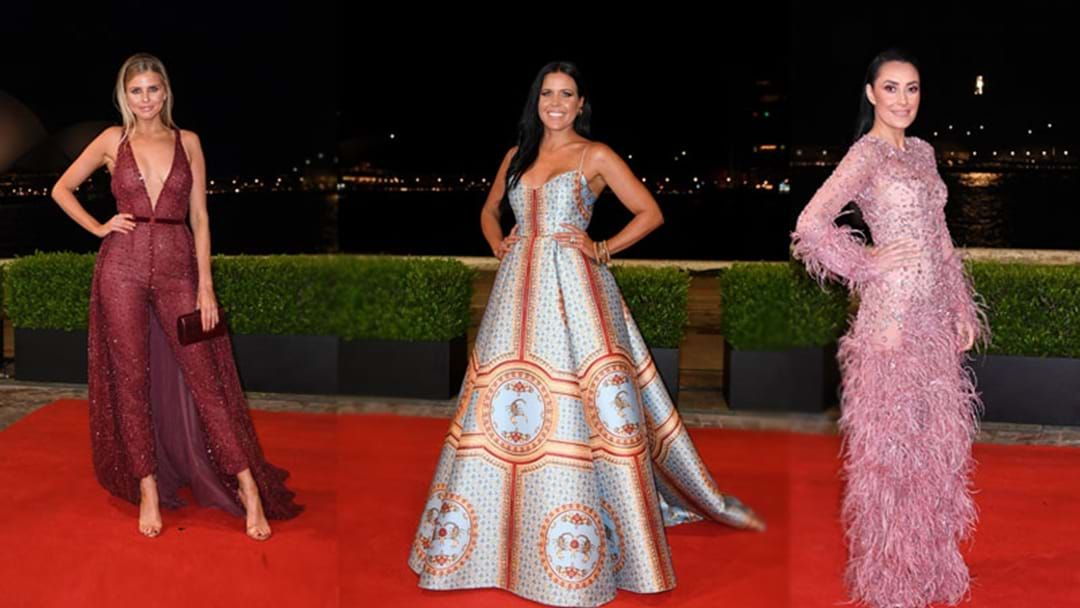 Every Dress From The 2018 NRL Dally M Red Carpet You'll Want