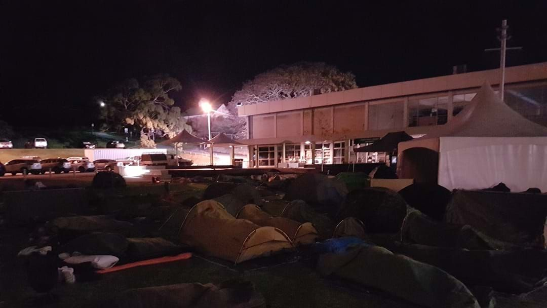 Article heading image for Albany Town Square becomes Tent City
