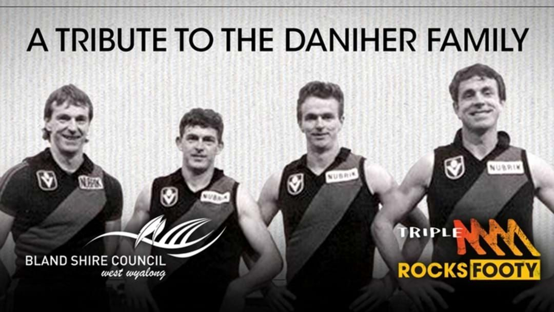 Article heading image for A Giant Aussie Rules Football Will Be Unveiled In Ungarie Next Weekend!