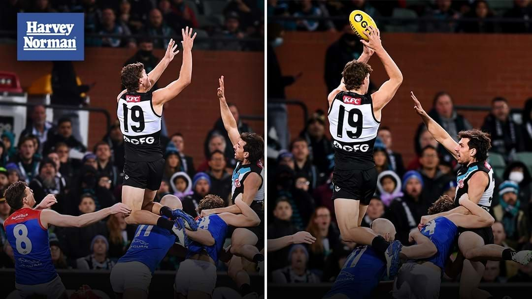 Article heading image for Triple M's Call Of Mitch Georgiades' Mark Of The Year Contender