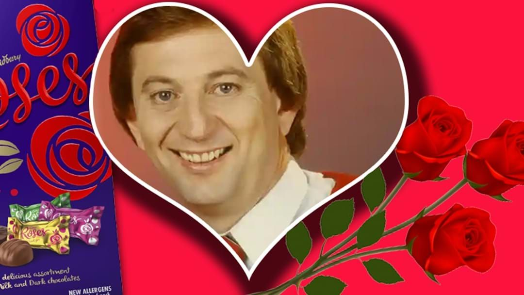 Article heading image for Dennis Cometti Reading Valentine's Love Messages Is Exactly How You'd Imagine It