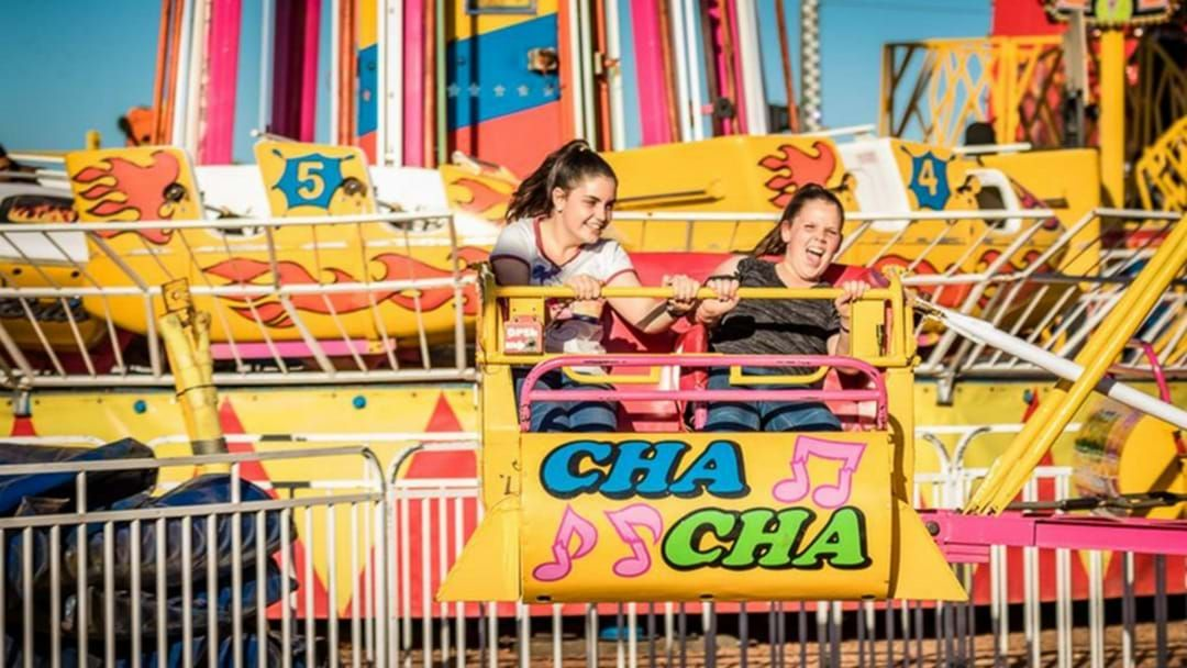 Article heading image for What Do You Call This Iconic Mt Isa Show Ride?