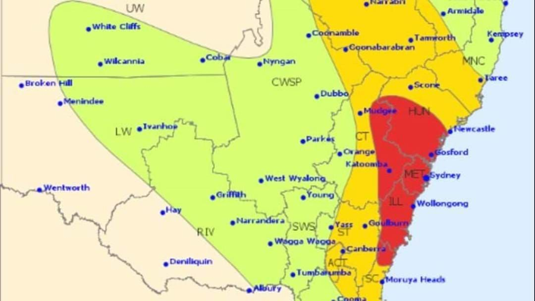Article heading image for Heavy Rain And Large Hail On The Way As Storm Warning Issued For Sydney