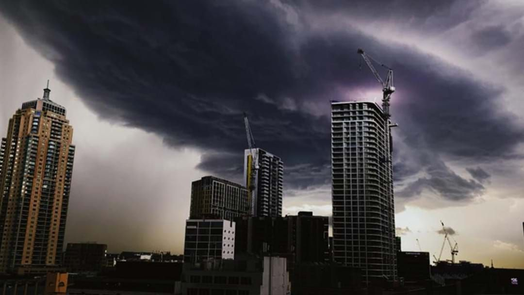 Article heading image for A Severe Thunderstorm Warning Has Been Put In Place For Parts Of NSW