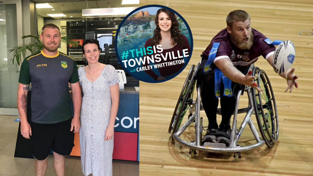 Article heading image for How This Townsville Dad Started The City's First Wheelchair Rugby League Comp