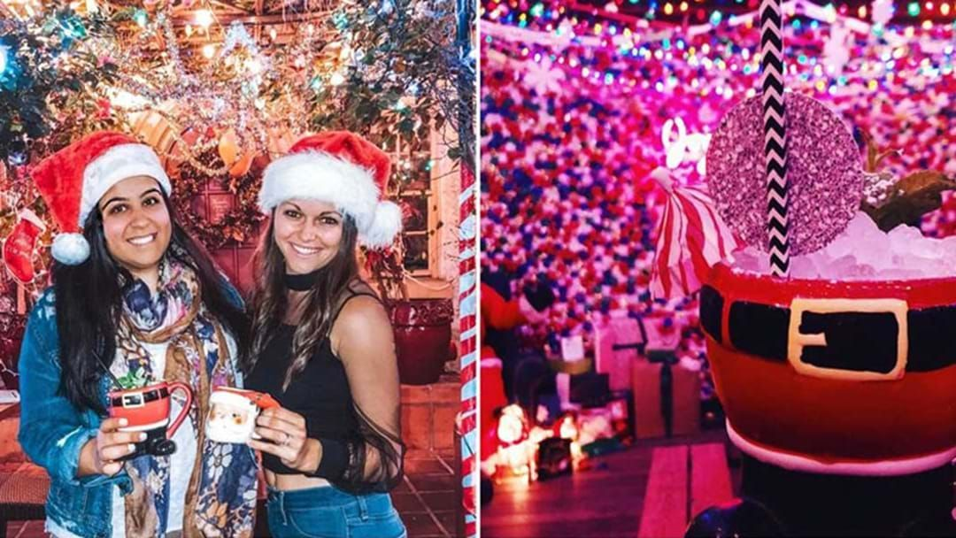 Article heading image for A Tinseltown Christmas Themed Pop-Up Bar Is Coming To Sydney!