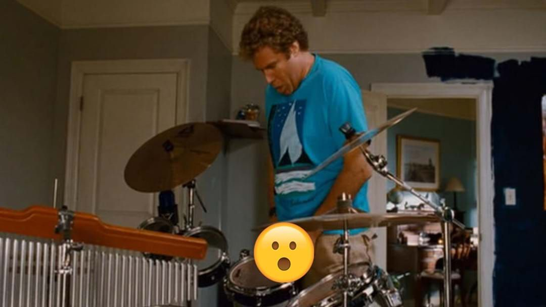 "Article heading image for We Just Found Out What Will Ferrell Did With The Fake Testicles From The Drum Kit Scene In ""Step Brothers"""