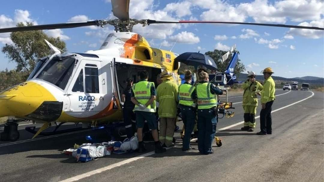 Article heading image for Capricornia Police Warn Drivers Of Road Safety Following Two Serious Crashes