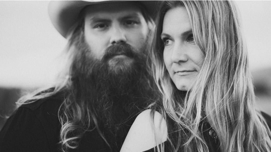 Article heading image for Chris Stapleton and Wife Morgane Get the BEST Ever Mother's Day Gift