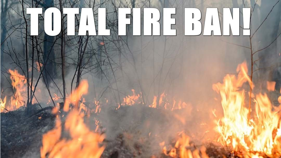 Article heading image for TOTAL Fire Ban Lockyer Valley