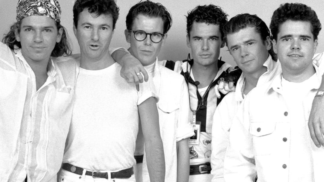 Article heading image for The Close Call INXS Had After Filming The Kiss The Dirt Video