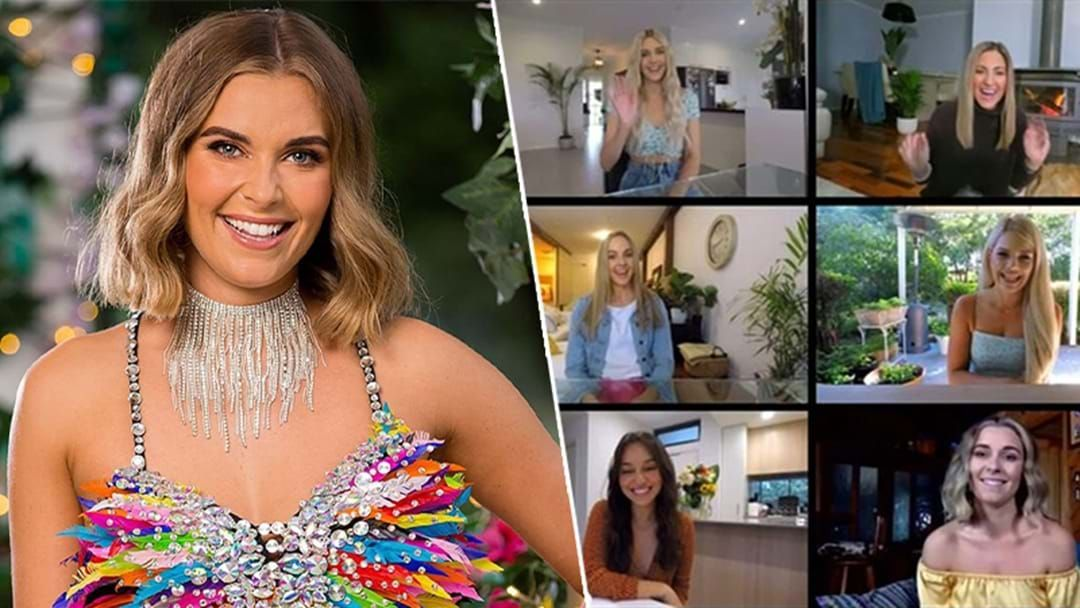 Article heading image for The Bachelor's Nicole Confirms She's Not Single & What She Actually Did With That Awkward Zoom Rose
