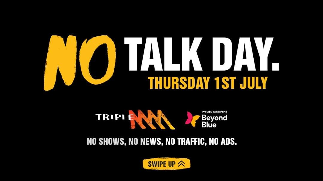 Article heading image for Triple M's No Talk Day 2021: It Takes Courage To Start A Conversation