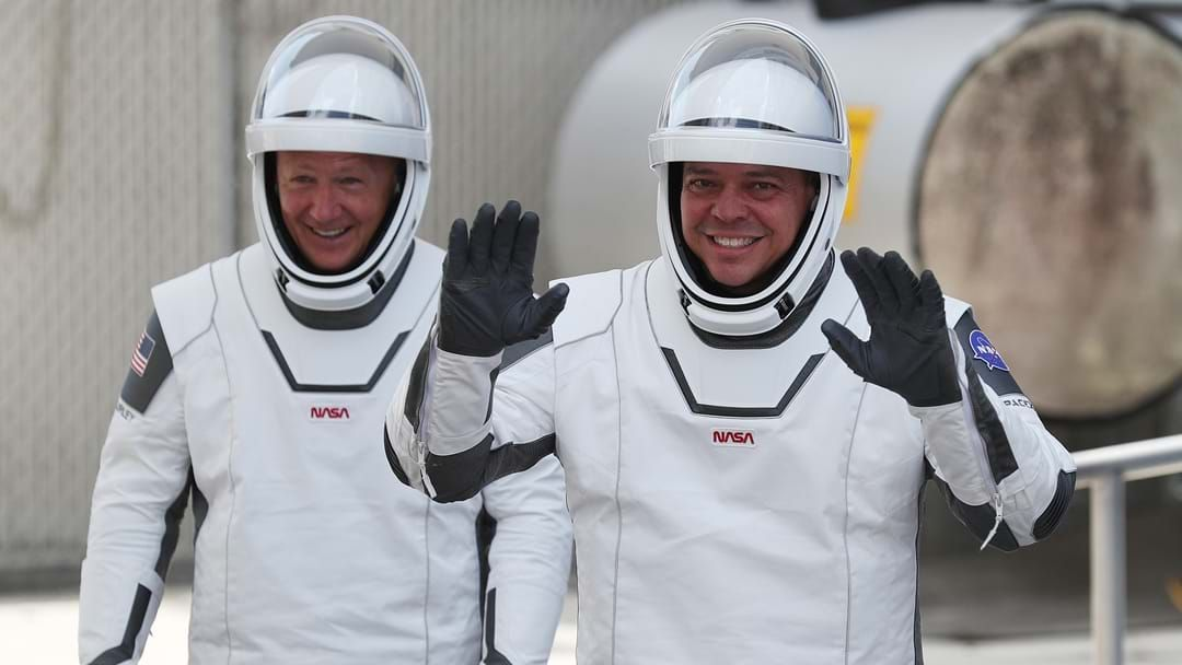 Article heading image for Apparently The Two SpaceX Astronauts Were Blasting AC/DC Before Blast Off