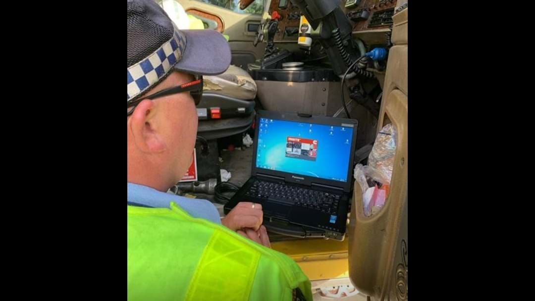 Article heading image for Truckie Busted Speeding At Ourimbah