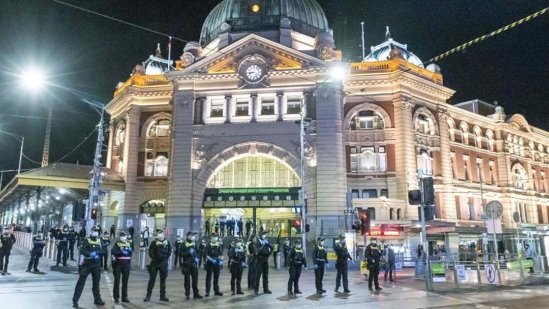 Article heading image for Police Out In Force For Planned Protests On Vaccine Mandates In Melbourne