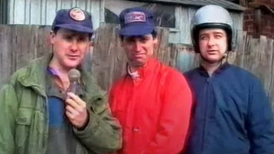 Article heading image for Mick Molloy's Brilliant Story About A Shitscared Scene On The Late Show That Went Horribly Wrong