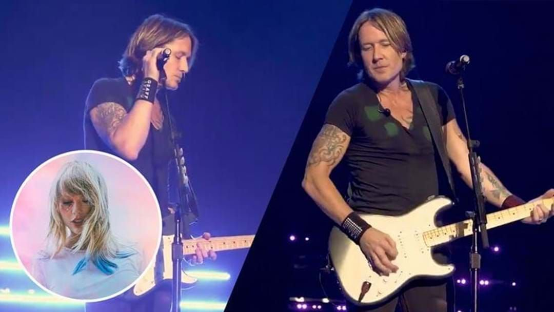 Article heading image for Keith Urban Has Covered Taylor Swift's 'Lover' And The World Is Good