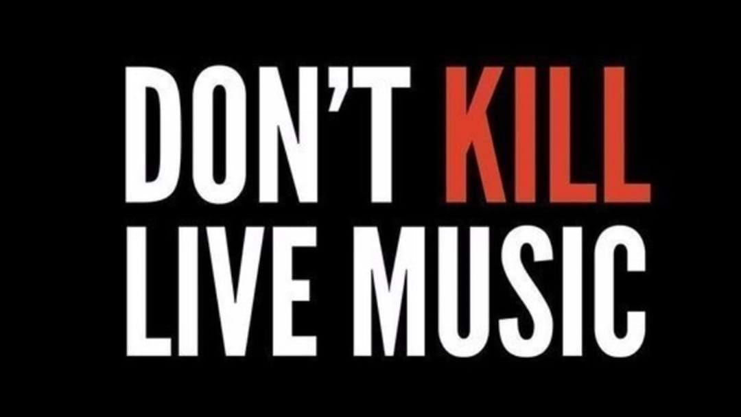 Article heading image for 'Don't Kill Live Music' Rally Hits Sydney Next Week