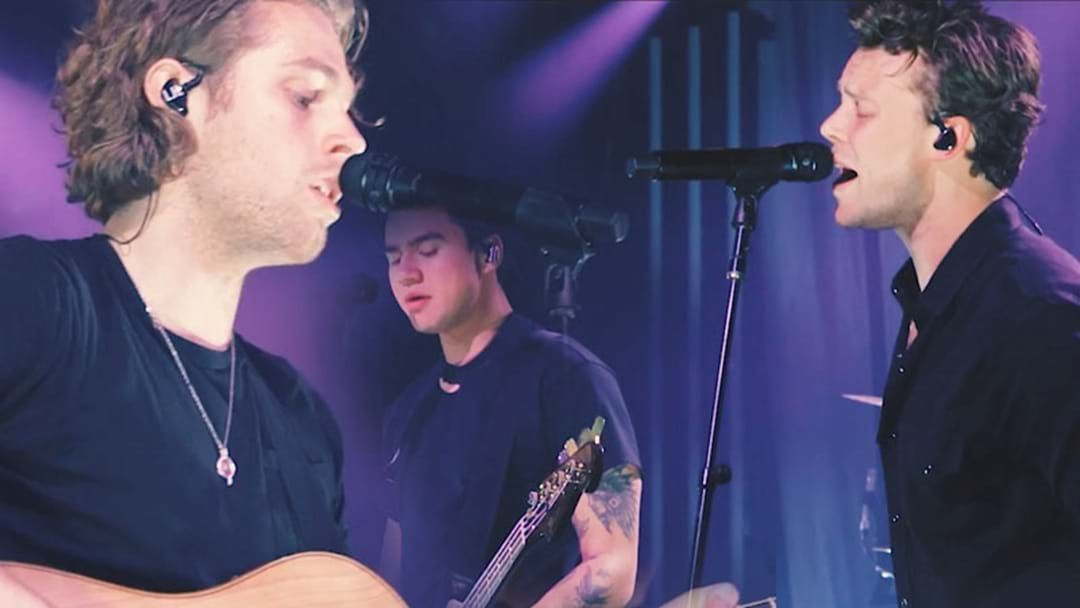Article heading image for WATCH: 5 Seconds of Summer Delight Fans with an Intimate Gig