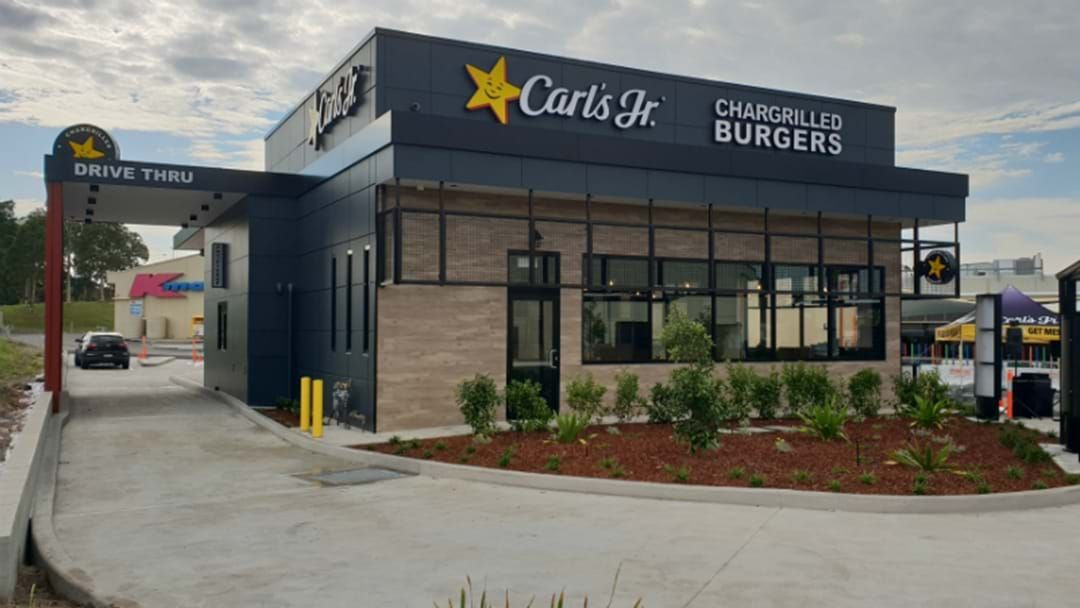 Article heading image for Carl's Jr Opening In The Hunter TODAY!