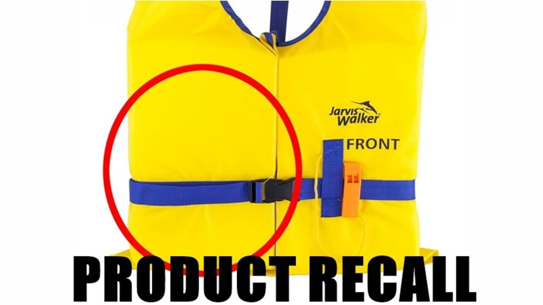 Article heading image for Popular Life-jacket RECALL