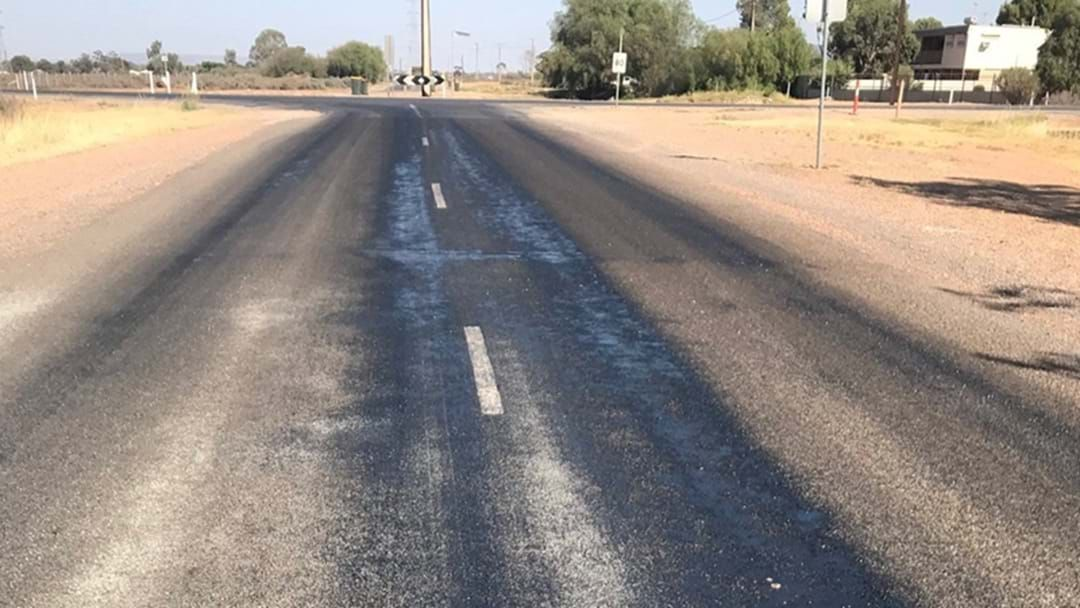 Article heading image for It's So Hot In Australia Some Of Our Roads Are Starting To Melt