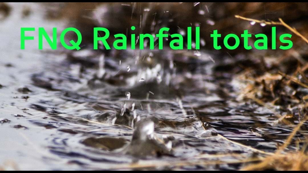 Article heading image for Rainfall total for FNQ