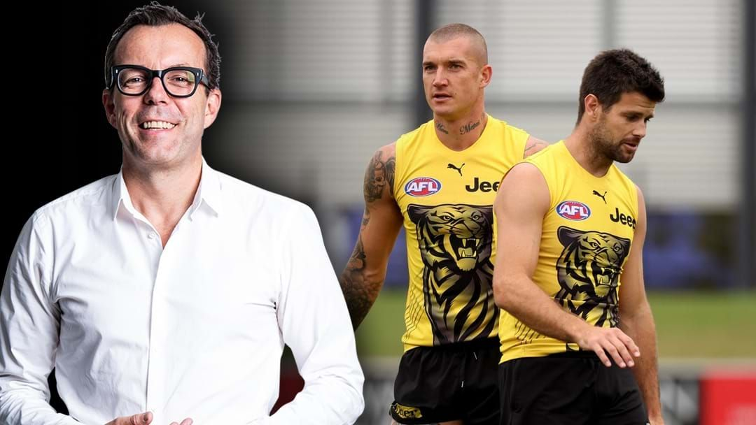 Article heading image for Barrett On Why Martin Should Become The Next Richmond Captain